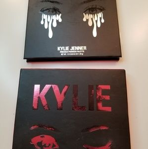 Kylie eyeshadow pallet and lip kit